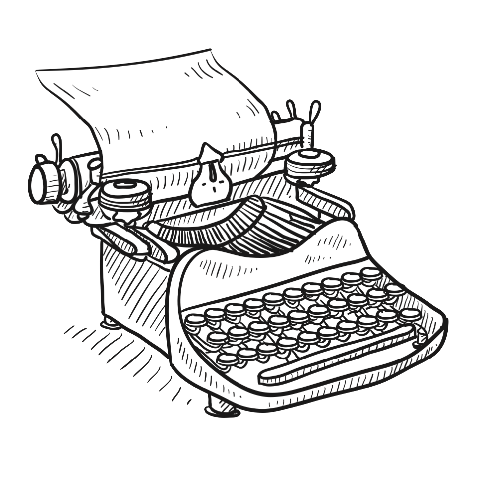 Typewriter Solid Sources