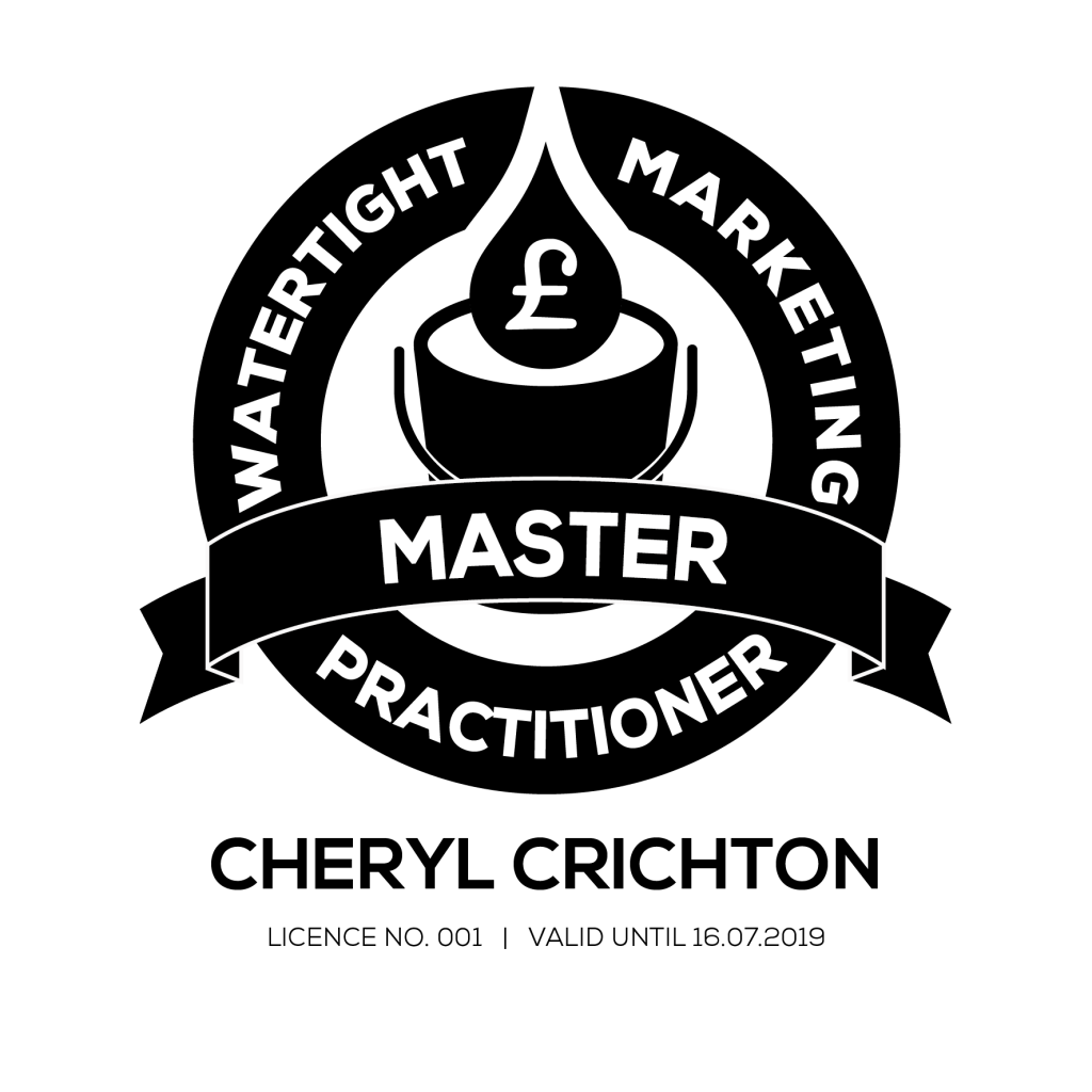 Watertight Marketing Master Practitioner logo mono