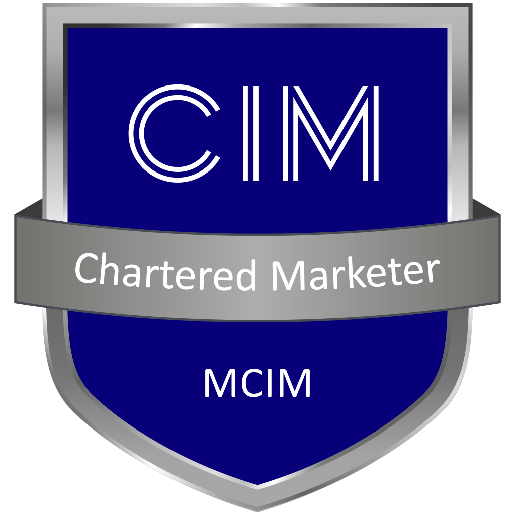 CIM Chartered Marketer Digital Badge